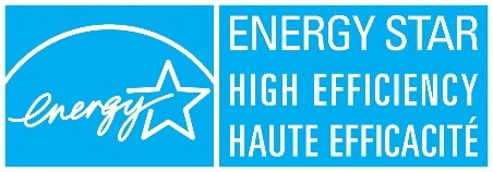 ENERGY STAR high efficiency haute efficacité