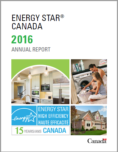 Cover 2016 ENERGY STAR Canada Annual Report