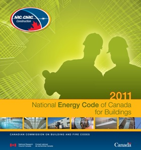 Image of the National Energy Code of Canada