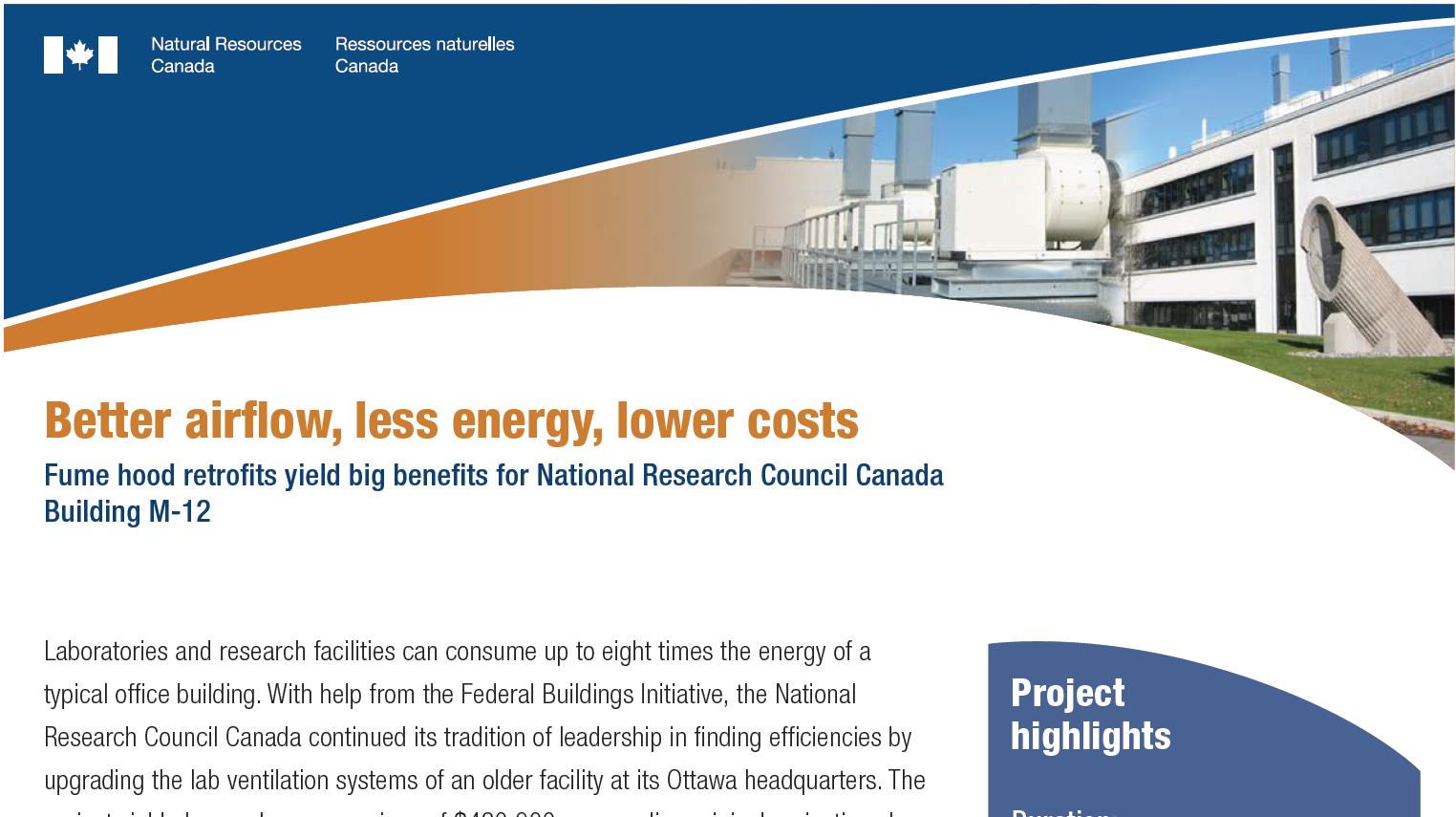 Image of the Federal Buildings Initiative publication