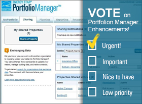Energy Start Potfolio Manager Vote image