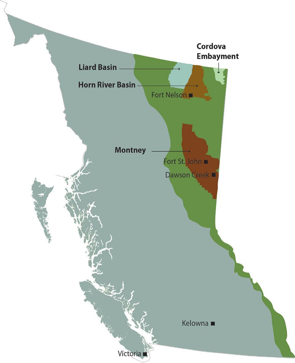 British Columbia's Shale and Tight Resources | Natural Resources Canada