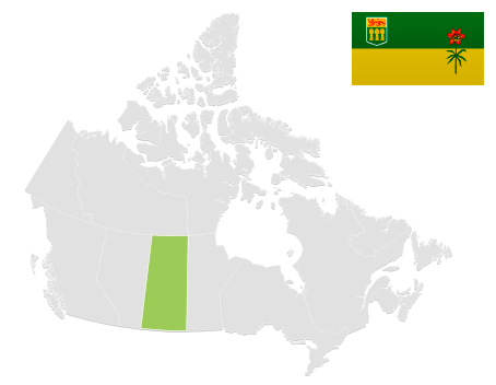 Map of SK