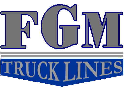 logo for FGM Trucklines.