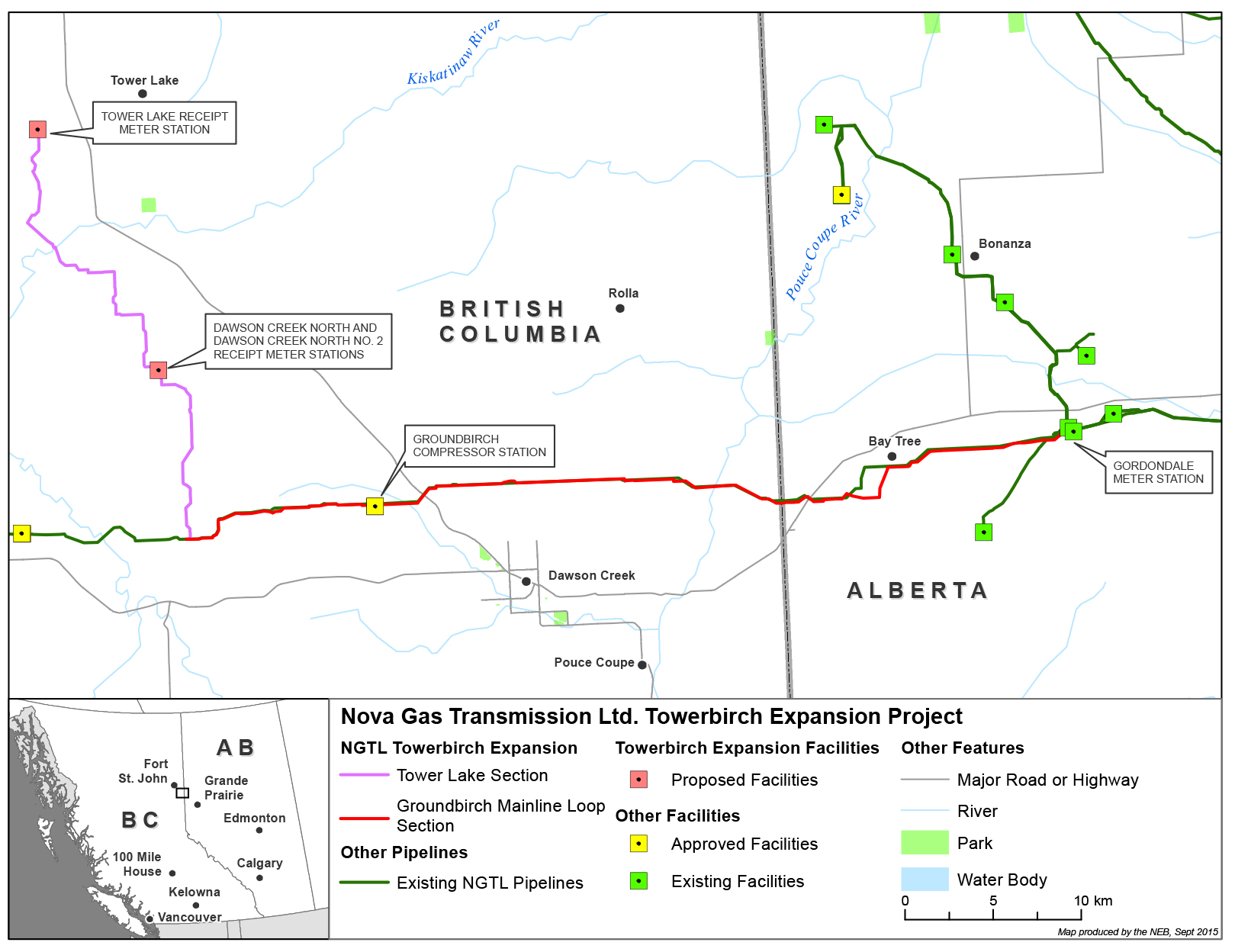 Towerbirch Expansion Project | Natural Resources Canada