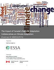 The Impact of Canada's Regional Adaptation Collaboratives on Climate Adaptation