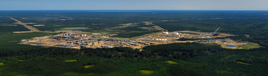 Cenovus Energy's Christina Lake oil sands drilling project, located 150 kilometres south of Fort McMurray, requires specialized methods to drill and pump the oil to the surface.