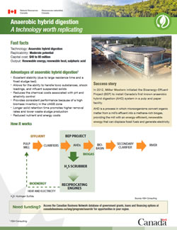Anaerobic hybrid digestion