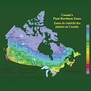 Image showing the map of Canada with a color code scale pertaining to Canada's Plant Hardiness Zones.