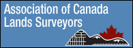 Image for the Association of Canada Land Surveyors  web site.