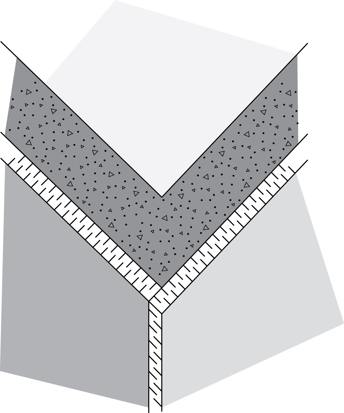 Figure 6-6 The insulation should overlap at corners