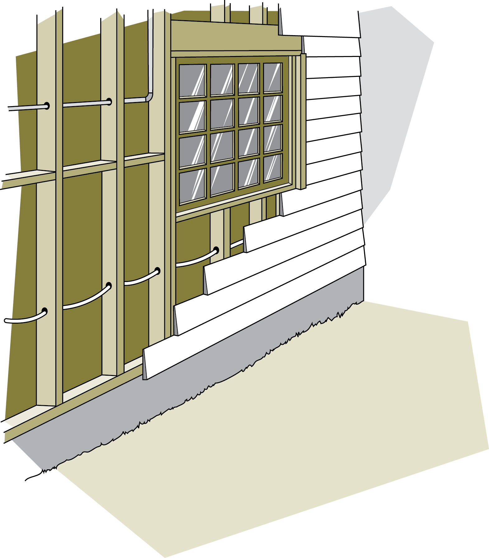 Keeping the heat in chapter 7 insulating walls - Revetement pour garage ...
