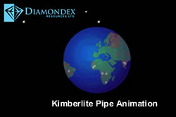 Kimberlite Pipe Animation