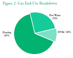 Natural Gas Usage Tracking Data Table