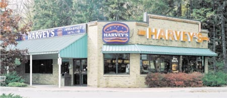 A Harvey's restaurant