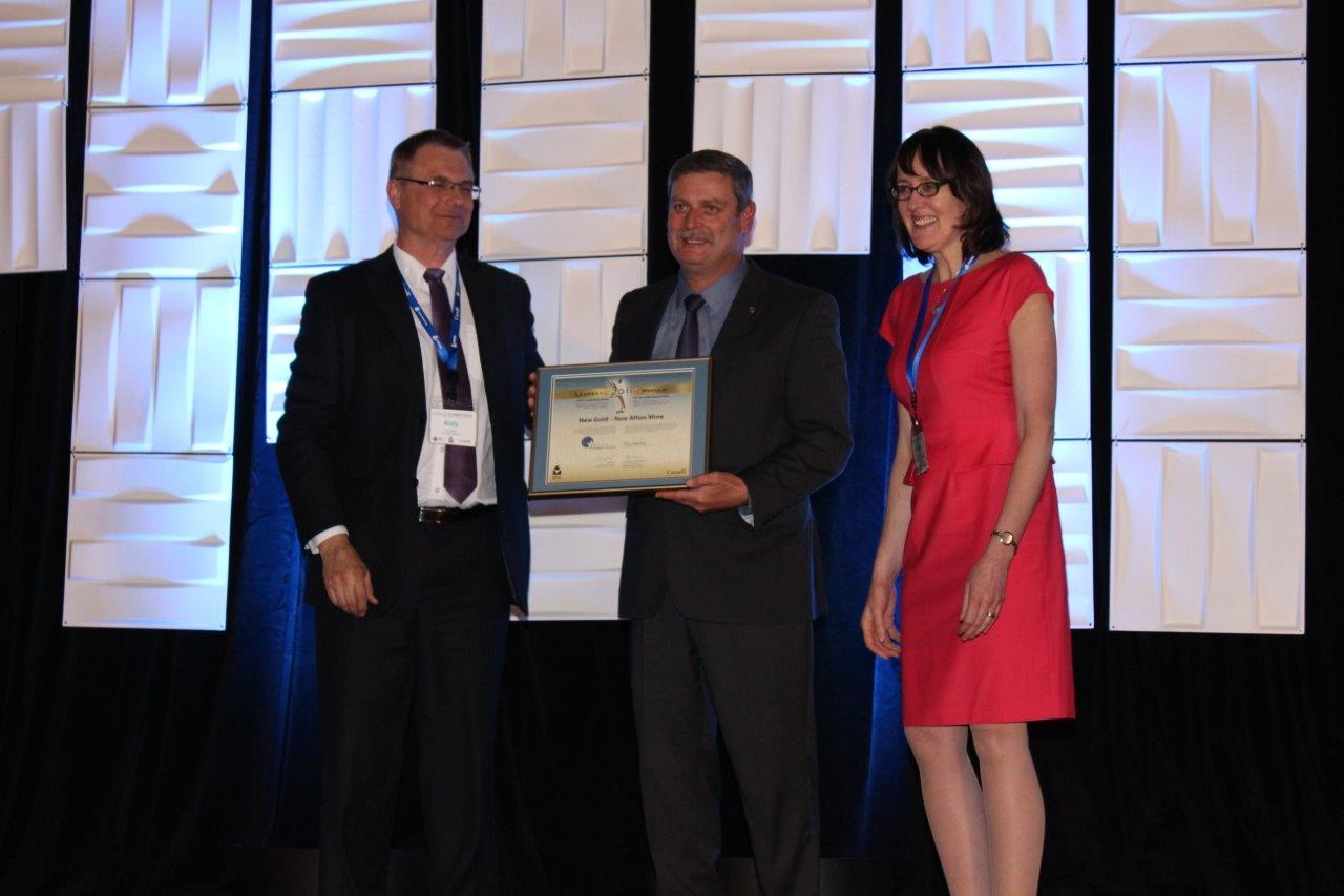 Picture of New Gold – New Afton Mine winner of the CIPEC Energy Management National Award