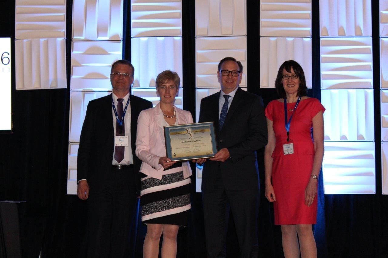 Picture of ArcelorMittal Dofasco winner of Corporate Stewardship Award