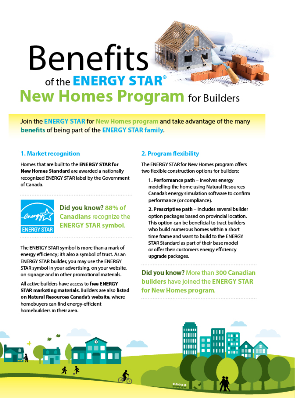ENERGY STAR for New Homes Benefits
