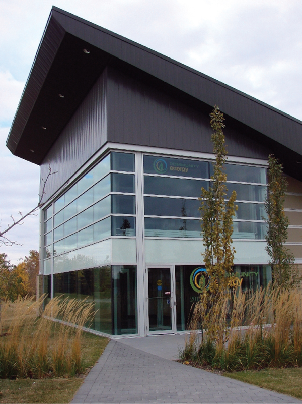 image of community energy centre building in Strathcona County, Alberta