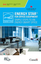 NERGY STAR for Office Equipment Simple Steps to an Energy-Smart Office Cover