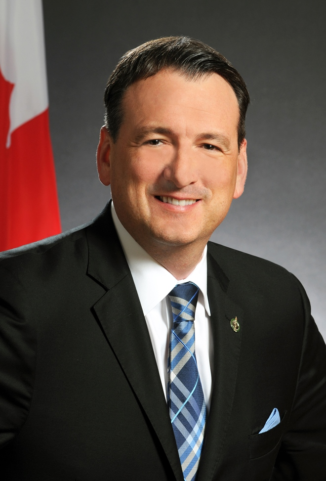The Honourable Greg Rickford, P.C., M.P., Minister of Natural Resources