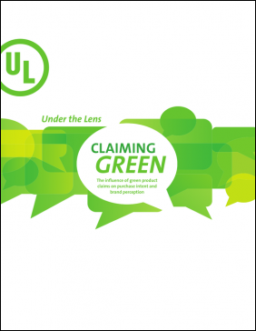 Cover of Green Claim report