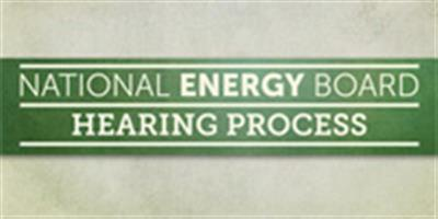 National Energy Board Hearing Process