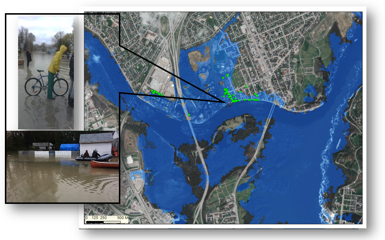 Prototype Flood Map App Captures What Satellites Can T Natural