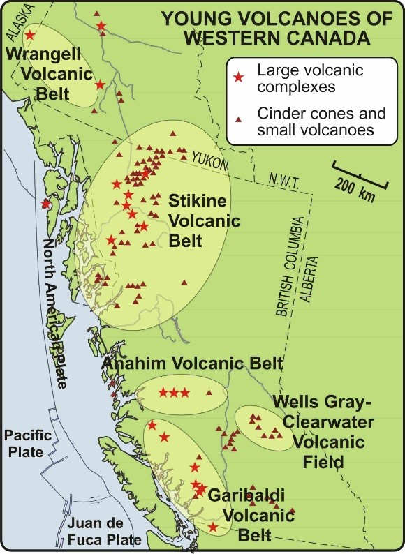 Alaska Map Volcano.Volcanoes In Canada Are They Ready To Rumble Natural Resources