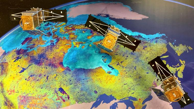 Canada as never seen before: The new RADARSAT Constellation Mission