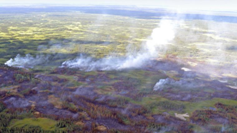 Wetland fire research improves air quality forecasts and carbon accounting