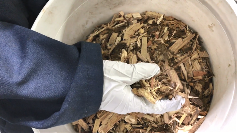 Making new products out of biomass residue (Byte-Sized Science)